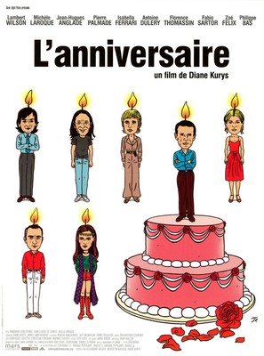 Anniversaire, L' - French Movie Poster (thumbnail)