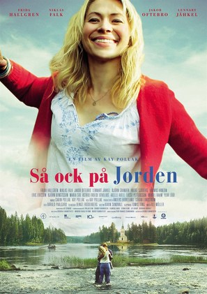 Så ock på jorden - Swedish Movie Poster (thumbnail)