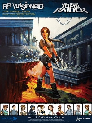 """""""Revisioned: Tomb Raider"""" - Movie Poster (thumbnail)"""