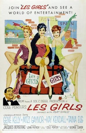 Les Girls - Movie Poster (thumbnail)