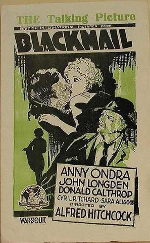 Blackmail - Movie Poster (thumbnail)