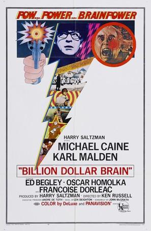Billion Dollar Brain - Movie Poster (thumbnail)