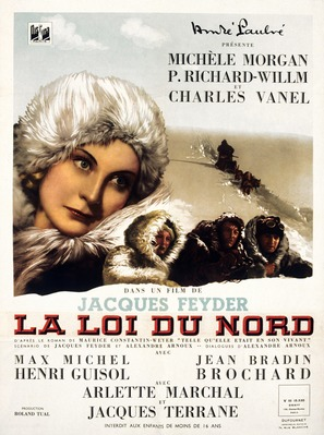La loi du nord - French Movie Poster (thumbnail)