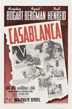 Casablanca - Movie Poster (thumbnail)
