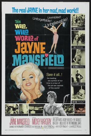 The Wild, Wild World of Jayne Mansfield - Movie Poster (thumbnail)
