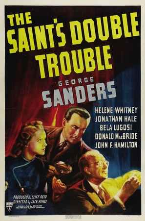 The Saint's Double Trouble - Movie Poster (thumbnail)