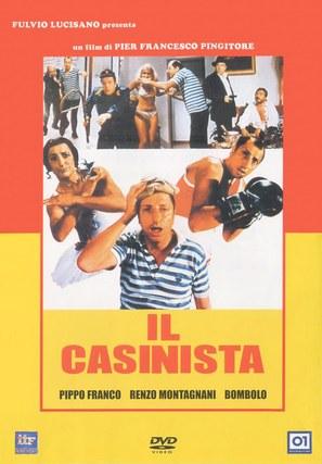 Il casinista - Italian DVD movie cover (thumbnail)