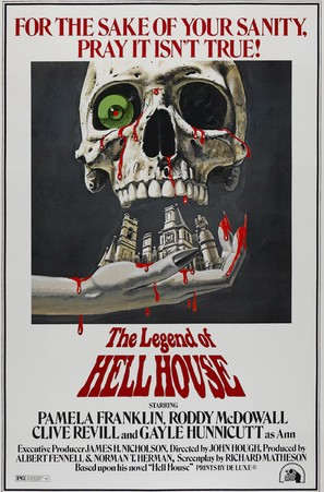 The Legend of Hell House - Movie Poster (thumbnail)