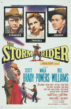 The Storm Rider - Movie Poster (thumbnail)