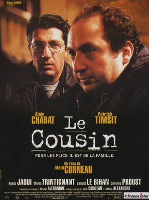 Le cousin - French Movie Poster (thumbnail)