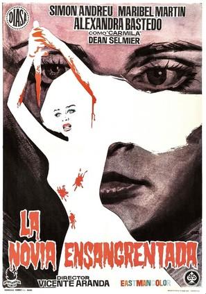 La novia ensangrentada - Spanish Movie Poster (thumbnail)