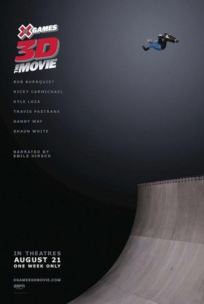 X Games 3D: The Movie - Movie Poster (thumbnail)