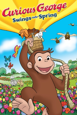 Curious George Swings Into Spring - DVD movie cover (thumbnail)