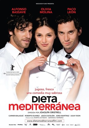 Dieta mediterránea - Spanish Movie Poster (thumbnail)