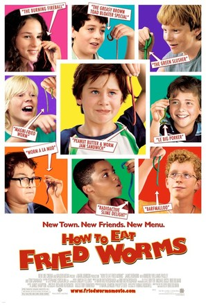 How to Eat Fried Worms - Movie Poster (thumbnail)