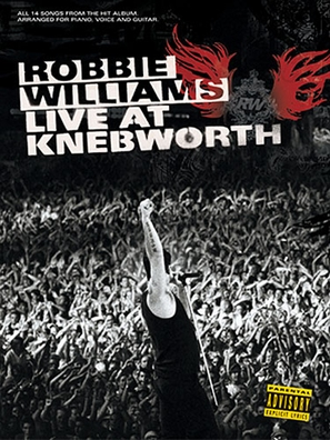 Robbie Williams Live at Knebworth - poster (thumbnail)