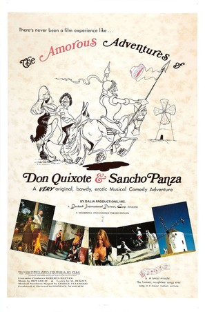 The Amorous Adventures of Don Quixote and Sancho Panza - Movie Poster (thumbnail)