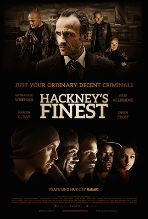 Hackney's Finest - British Movie Poster (thumbnail)