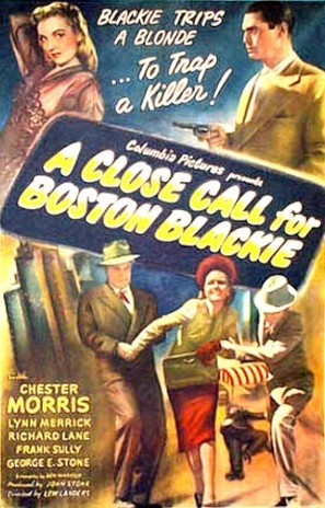A Close Call for Boston Blackie - Movie Poster (thumbnail)