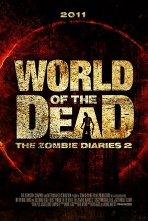 World of the Dead: The Zombie Diaries - British Movie Poster (thumbnail)