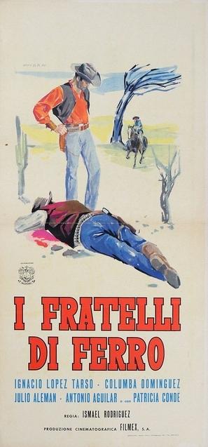 Los hermanos Del Hierro - Italian Movie Poster (thumbnail)