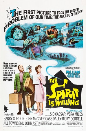 The Spirit Is Willing - Movie Poster (thumbnail)