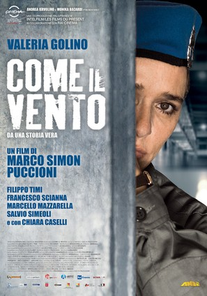 Come il vento - Italian Movie Poster (thumbnail)