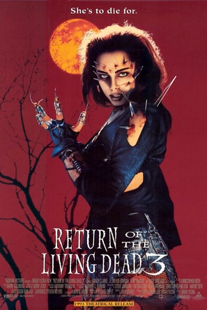 Return of the Living Dead III - Movie Poster (thumbnail)