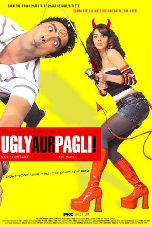 Ugly Aur Pagli - Indian Movie Poster (thumbnail)