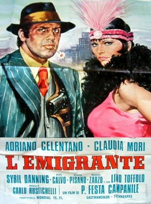 L'emigrante - Italian Movie Poster (thumbnail)