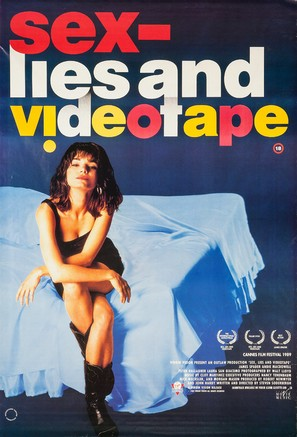 Sex, Lies, and Videotape - British Movie Poster (thumbnail)