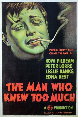 The Man Who Knew Too Much - British Theatrical movie poster (thumbnail)