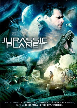 Jurassic Galaxy - French DVD movie cover (thumbnail)