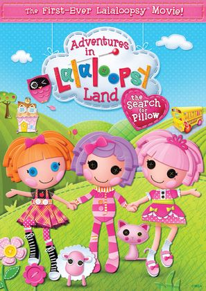 Adventures in Lalaloopsy Land: The Search for Pillow - DVD cover (thumbnail)