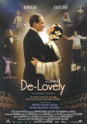 De-Lovely - Spanish Movie Poster (thumbnail)