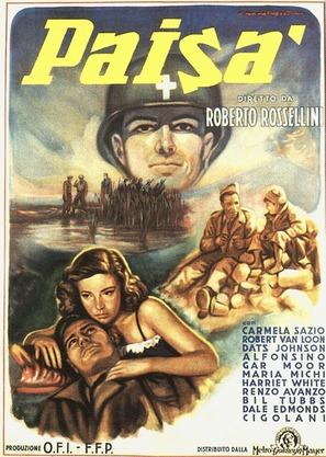 Paisà - Italian Movie Poster (thumbnail)