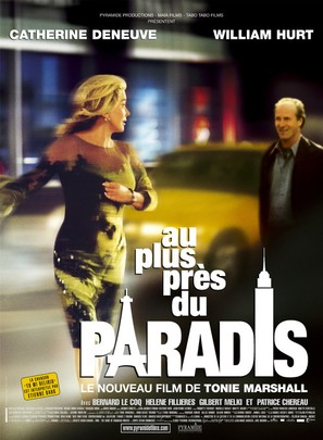 Au plus près du paradis - French Movie Poster (thumbnail)
