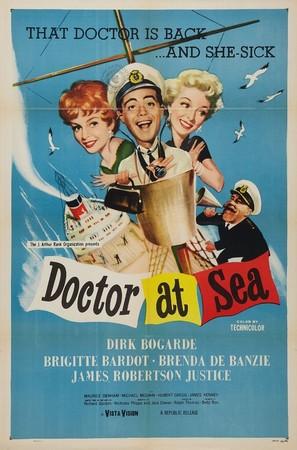 Doctor at Sea - Movie Poster (thumbnail)