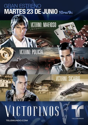"""""""Victorinos"""" - Colombian Movie Poster (thumbnail)"""