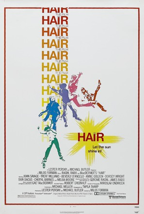 Hair - Theatrical poster (thumbnail)