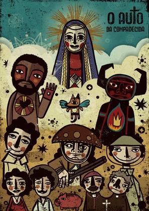 """O Auto da Compadecida"" - Brazilian Movie Poster (thumbnail)"