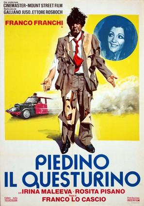 Piedino il questurino - Italian Movie Poster (thumbnail)