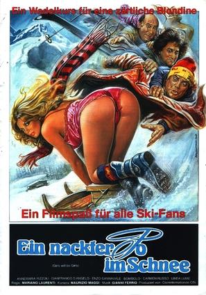 La settimana bianca - German Movie Poster (thumbnail)