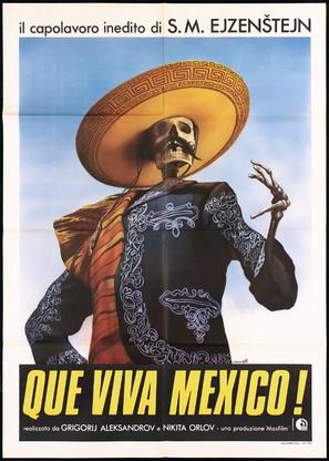 ¡Que Viva Mexico! - Da zdravstvuyet Meksika! - Italian Movie Poster (thumbnail)