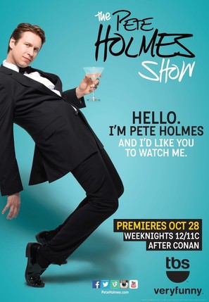 """The Pete Holmes Show"" - Movie Poster (thumbnail)"