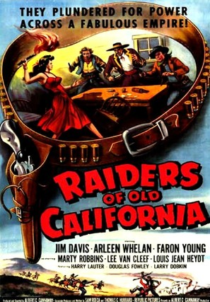 Raiders of Old California - Movie Poster (thumbnail)