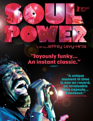 Soul Power - Movie Poster (thumbnail)