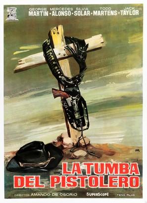 La tumba del pistolero - Spanish Movie Poster (thumbnail)