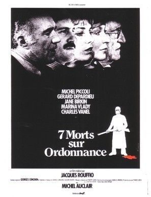 Sept morts sur ordonnance - French Movie Poster (thumbnail)