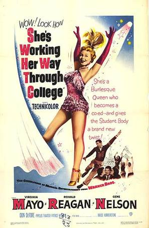 She's Working Her Way Through College - Movie Poster (thumbnail)